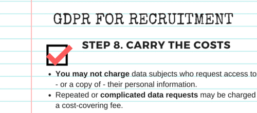 GDPR compliance checklist step 8