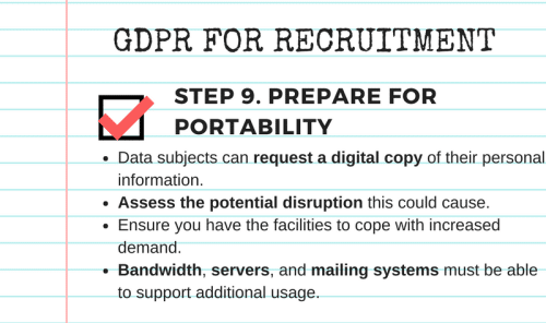GDPR compliance checklist step 9