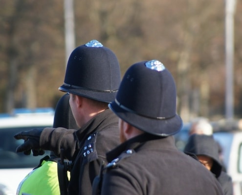 police recruitment spending review